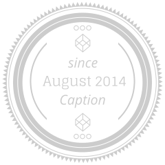 August	2014 Caption since